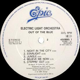 Out Of The Blue 45085 LP Label Side 2 V2