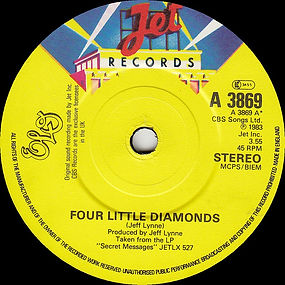 Four Little Diamonds JET A 3869