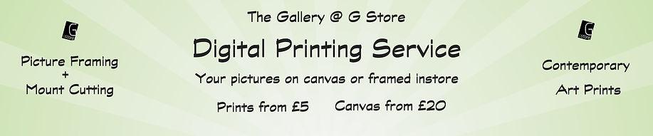 G Store Digital Print Service
