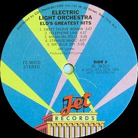 ELO Greatest Hits FZ 36310 Club Version Side 2