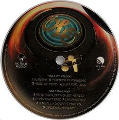 Zoom Re-Issue White Vinyl Side B Label