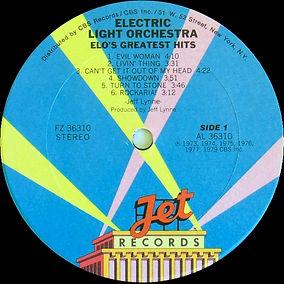 ELO Greatest Hits FZ 36310 Club Version Side 1