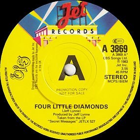 Four Little Diamonds JET A 3869