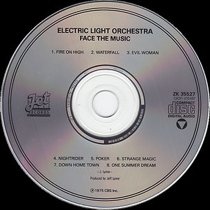 Face The Music ZK 35527 Later 1990 - 1994 Issue CD