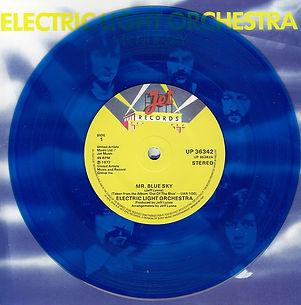 Mr Blue Sky - Blue Vinyl