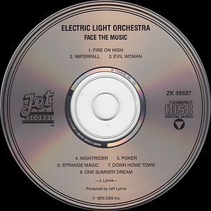 Face The Music ZK 35527 2nd Issue CD