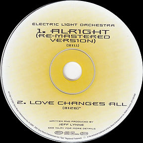 Alright CD Euro Single