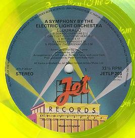 Eldorado JETLP 203 Yellow Vinyl 1st Issue Side1