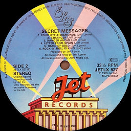 Secret Messages JETLX 527 Side 2