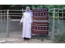 Purple Anou Tapestry