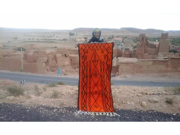 Orange Anou Tapestry
