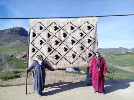 White Anou Tapestry
