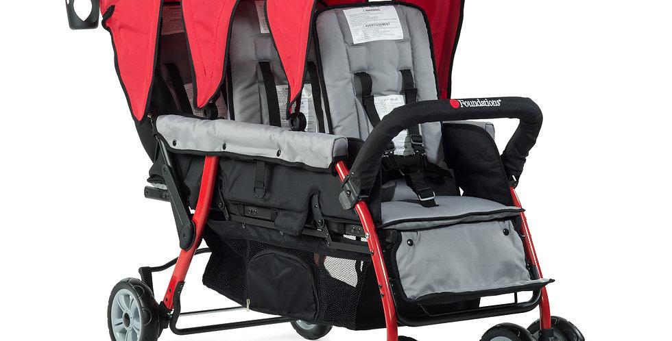 Trio Sport™ Triple Tandem Stroller/Sport™ Splash 3-seat strollers
