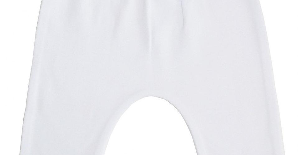 Interlock White Long Pants
