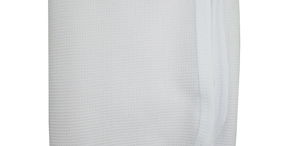 White Cotton Thermal Receiving Blanket