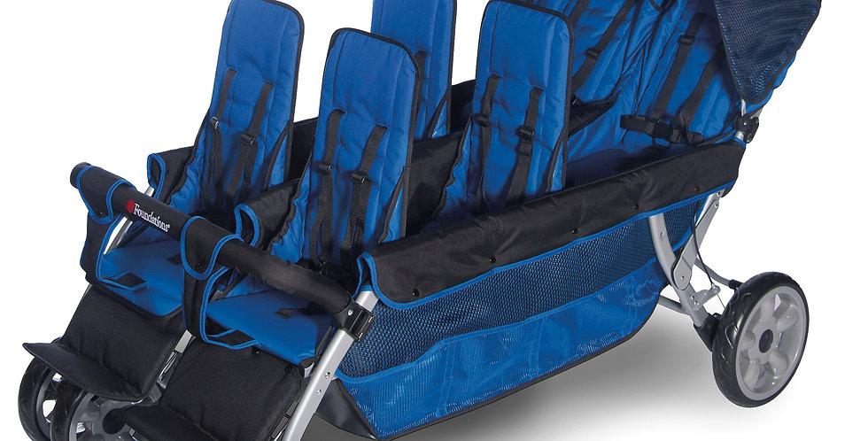 The LX6™  6-Passenger Stroller