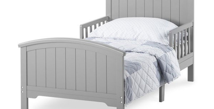 Forever Eclectic™ Hampton Toddler Bed with Rails