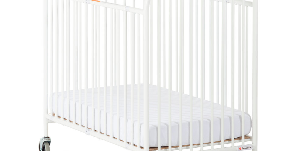Pinnacle™/StowAway™ Steel Folding Compact/Full Crib