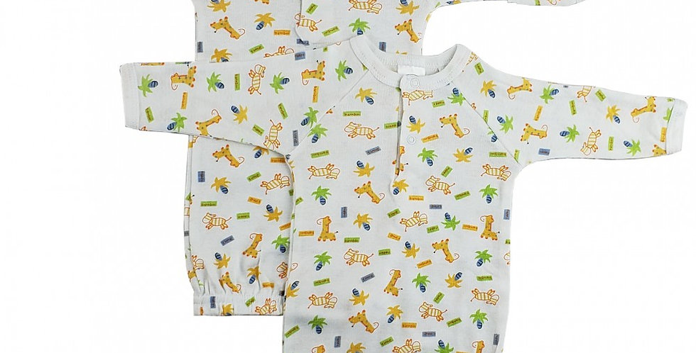 Preemie Print Infant Gown (Pack of 2)