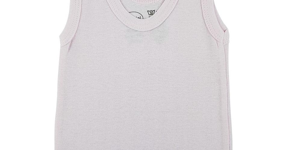 Pink Sleeveless Tank Top Shirt