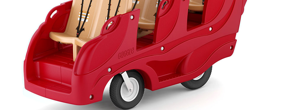 Gaggle® 6 Multi-Passenger Buggy with Soft-Stop Brake
