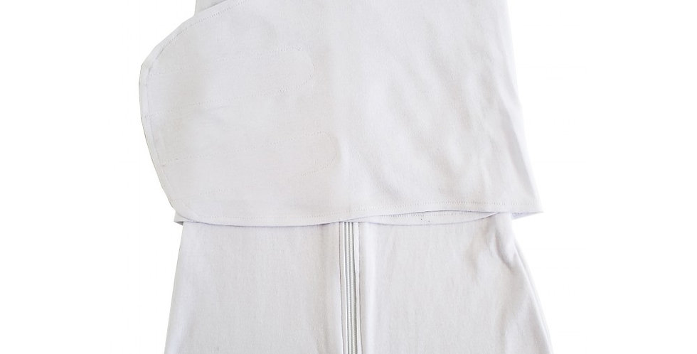 White Interlock Swaddle Blanket