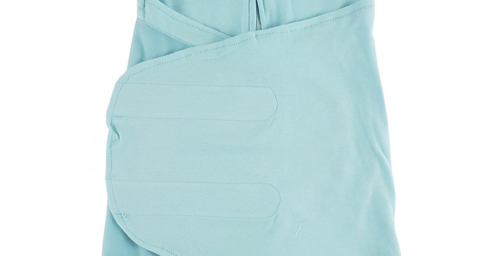 Preemie Interlock Mint Swaddle Blanket