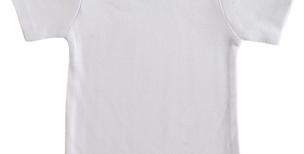 Infant/Newborn White Short Sleeve T-Shirt
