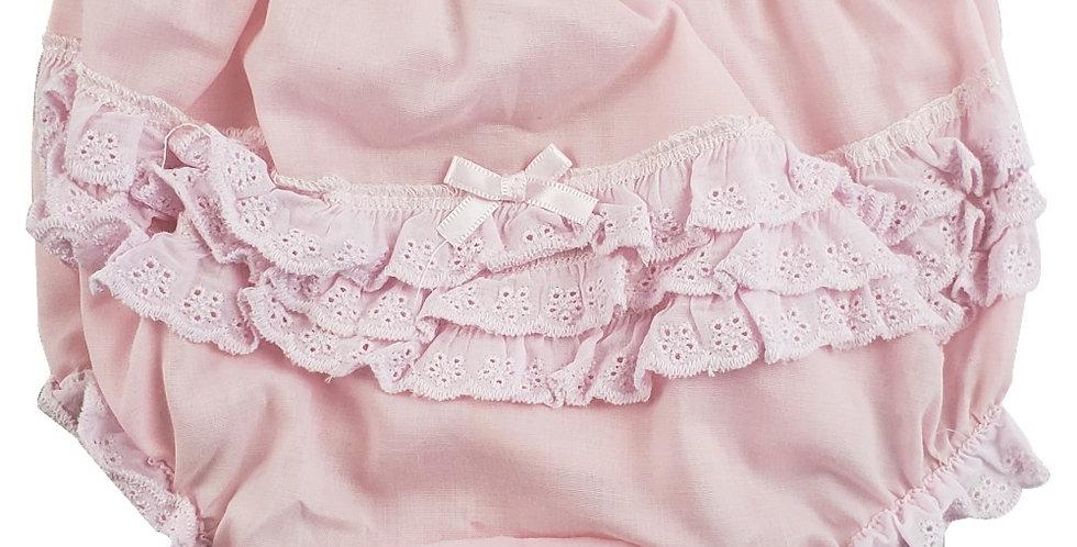 "Girl's Cotton/Poly ""Fancy Pants"" Underwear"