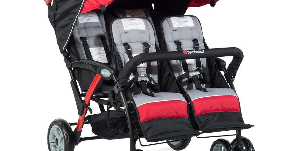 Quad Sport™ 4-Passenger Stroller