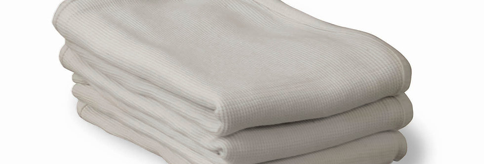 ThermaSoft™ Crib Blankets - 100% cotton knit thermal blankets