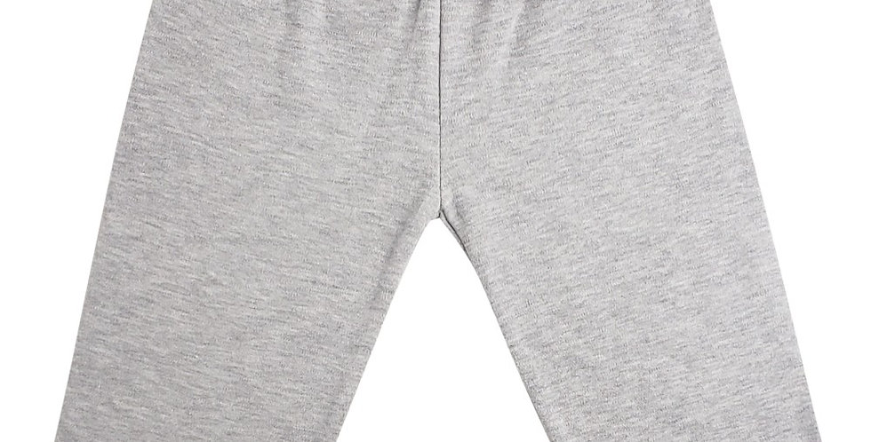 Heather Grey Interlock Sweat Pants