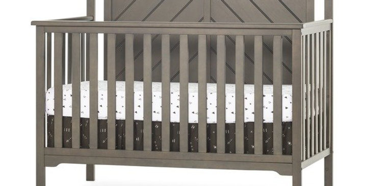 Forever Eclectic™ Hampton Flat Top 4-in-1 Convertible Baby Crib