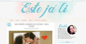 """Resenha: Blog """"Este já li"""""""