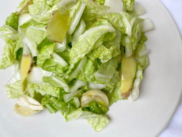 オリーブオイルを使って、さっと作れる白菜の浅漬け風マリネ