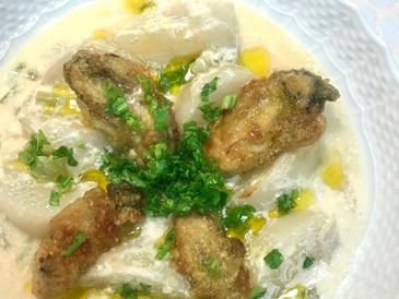 かぶと牡蠣のホワイトスープ