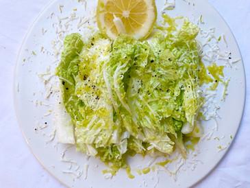 パルミジャーノとレモン香る 白菜サラダ