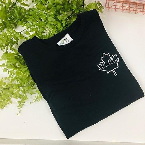 Daddy Maple Leaf T-Shirt