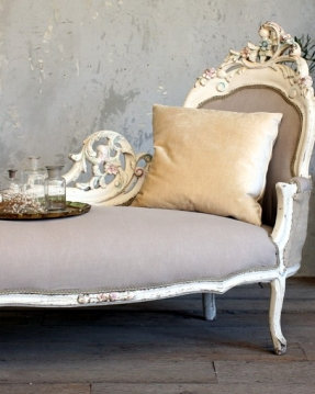 antique french settee
