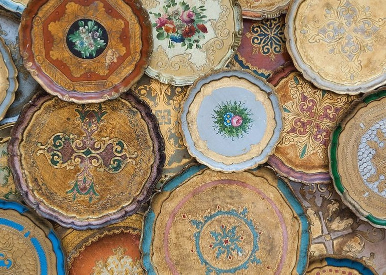florentine tray (assorted styles)