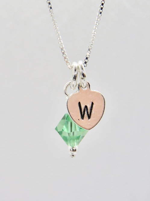 Personalized Charm Necklace | Initial Charm Necklace