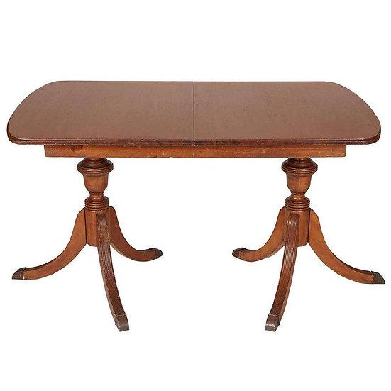 antique duncan phyfe table (x 2)