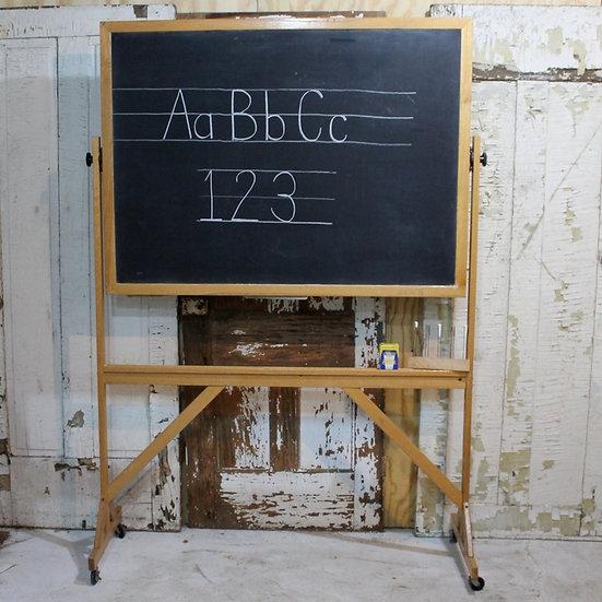 vintage school blackboard