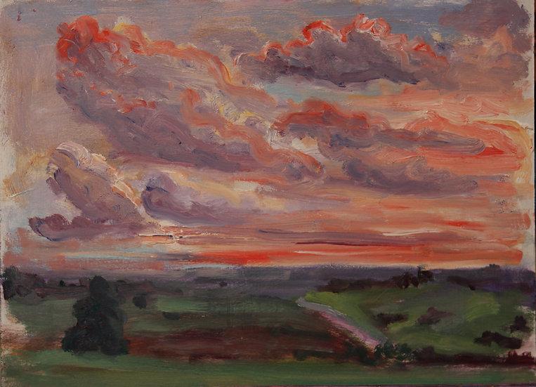 Irina Grobman- Sunset Sky