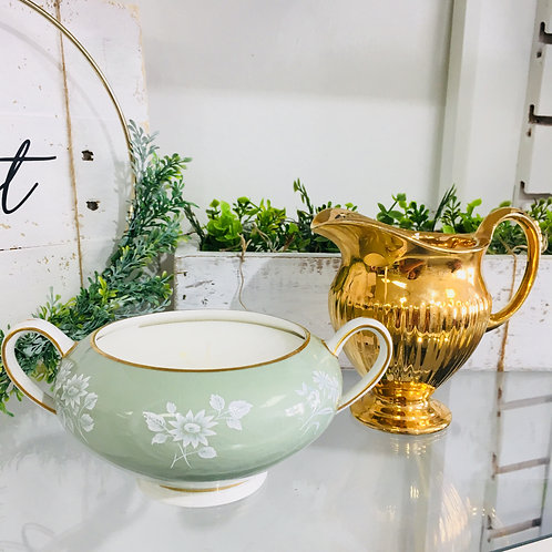 Vintage Collectors China Candles