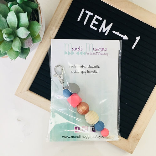 Mandi Mugginz Keychain/Zipper Pull