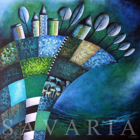 Josée Savaria- Bleu Comme l'Océan Infini