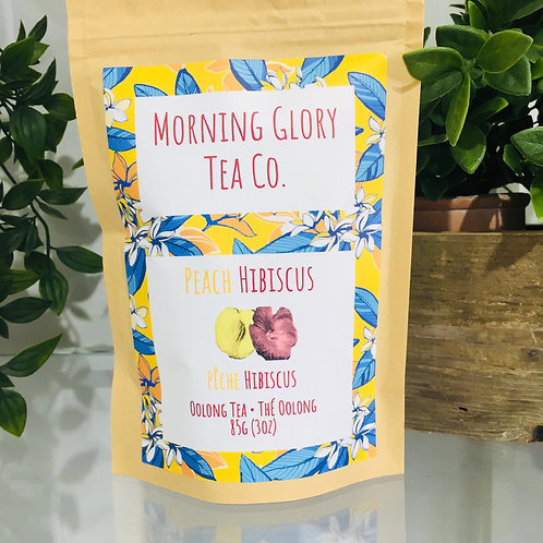 Morning Glory Tea Co. Peach Hibiscus
