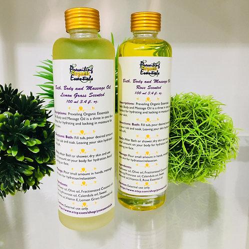 Bath, Body and Massage Oil