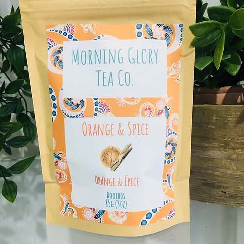 Morning Glory Tea Co. Orange Spice